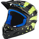 bluegrass Intox Fullface-Helmet black/yellow lightnings